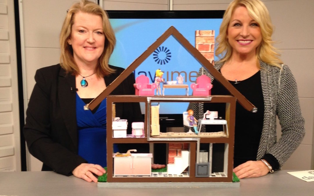 Karen visits Rogers Daytime TV to discuss how to remove carpet stains rather than set them.